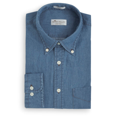Crown Vintage Denim Sport Shirt