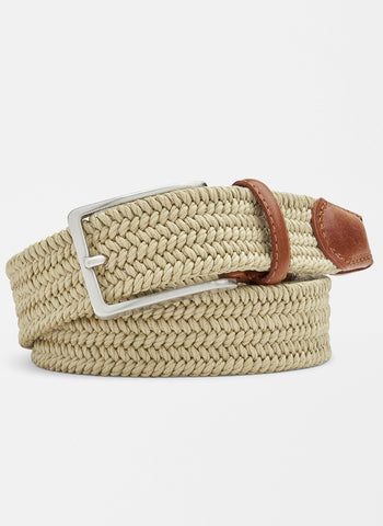 Waxed Braided Belt