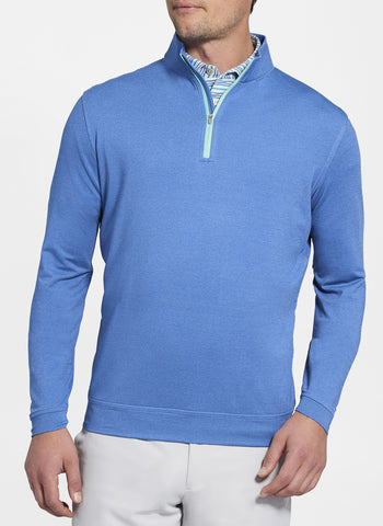 Perth Stretch Mélange Quarter-Zip