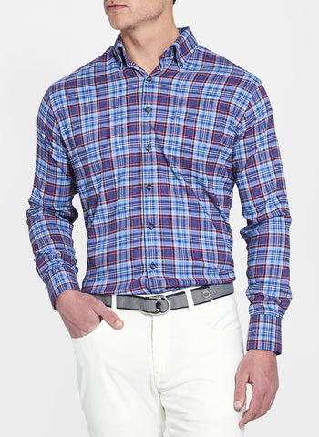 Lawler Performance Check Flannel Sport Shirt