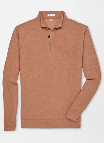 Tri-Blend Mélange Fleece Quarter-Zip
