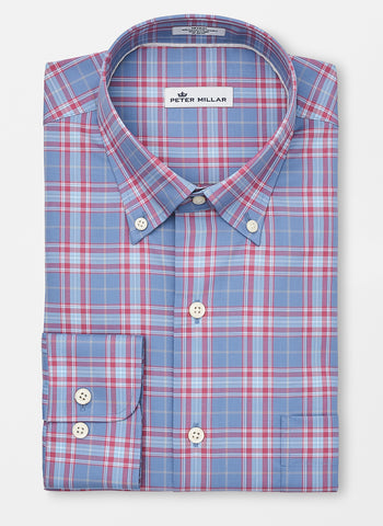 Crown Ease Archipelago Plaid Sport Shirt