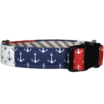 Nautical Pride Dog Collar