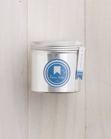 L'eau Tide Sea Tin Candle