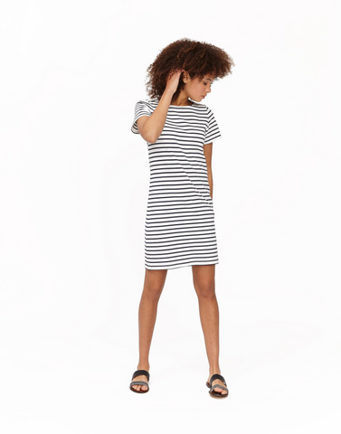Short Sleeve Jersey Dress