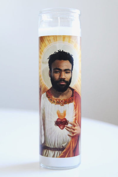 Donald Glover Prayer Candle