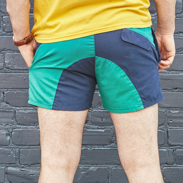 70s/80s Color Block Shorts