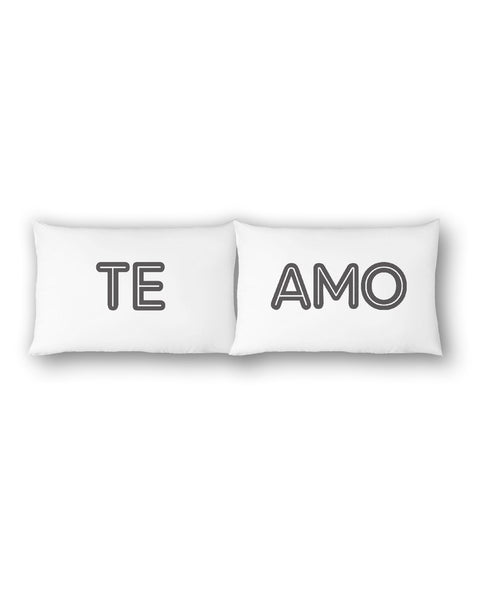 Te Amo Pillowcase Set