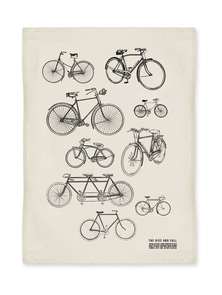 Vintage Bikes Kitchen Towel