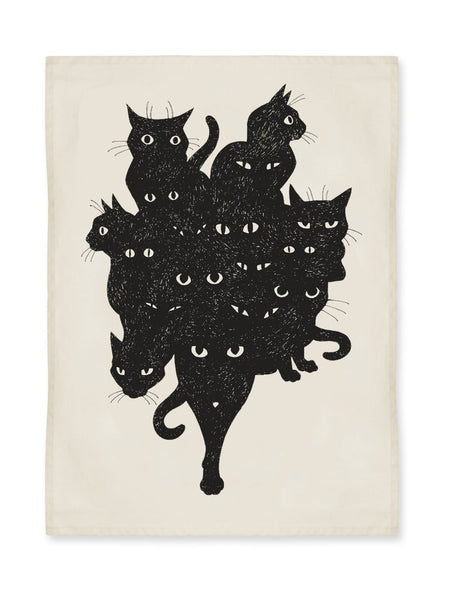 Cat Crew Kitchen Towel