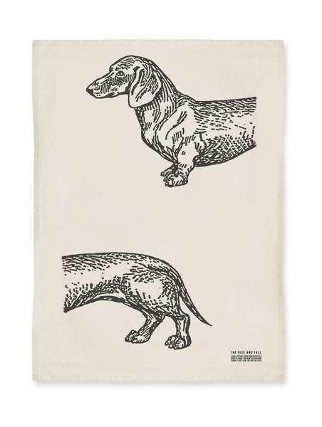 Dachshund Kitchen Towel