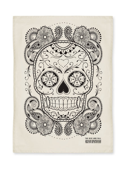New Sugar Skull Kitchen Towel