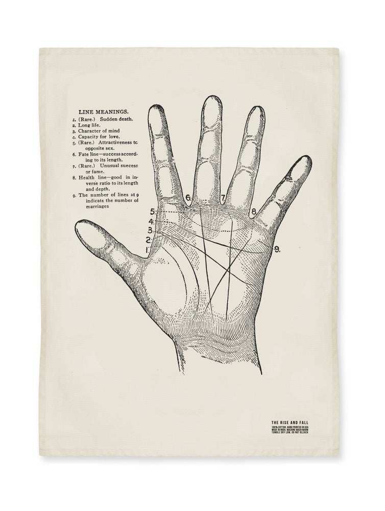 Palmistry Kitchen Towel