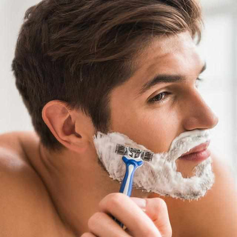 Can collagen help with shaving rash?