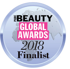 Beauty Global Awards 2018 Finalist Badge