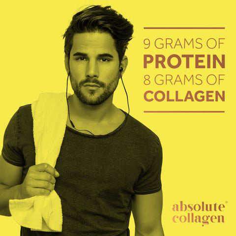 9 grams of protein in each Absolute Collagen Stud sachet