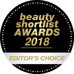 Beauty Shortlist Awards 2018 Editor's Choice Badge