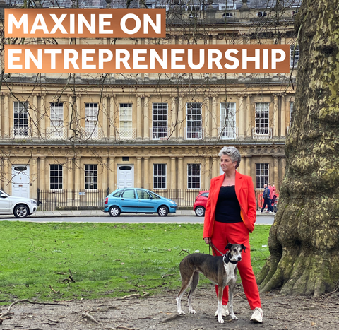 Maxine Laceby on entrepreneurship