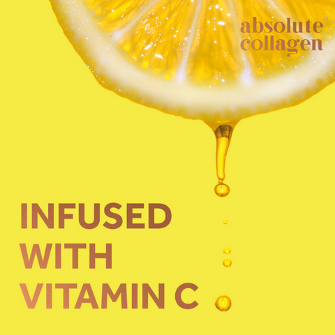 Absolute Collagen is infused with Vitamin C