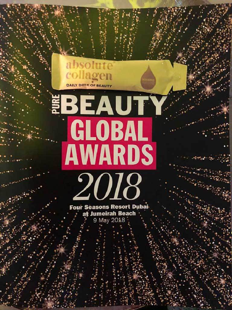 Absolute Collagen Global Beauty Awards Dubai 2018