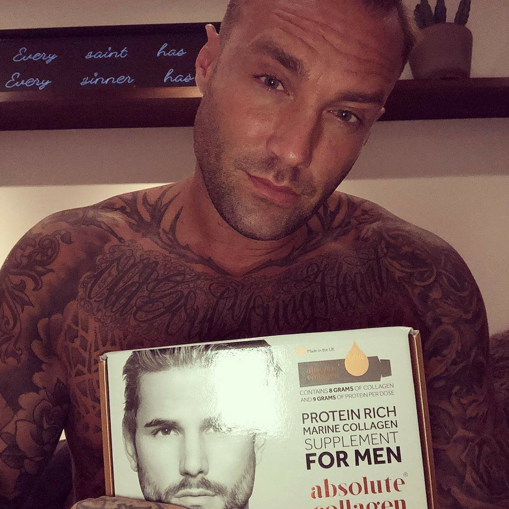 Calum Best Tests Out Stud Box