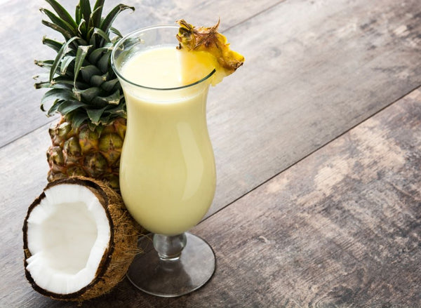 5 Dry January Mocktails You'll Love - Spiced Pina Colada | Absolute Collagen
