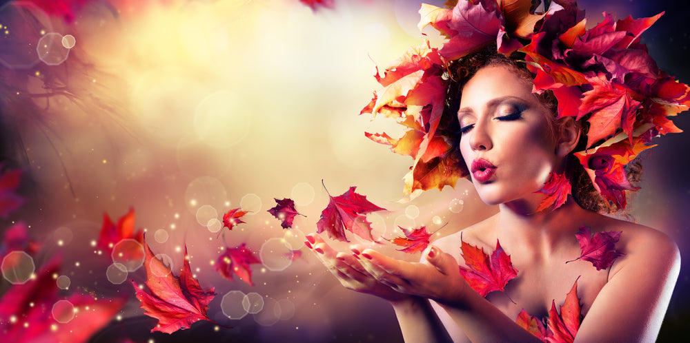healthy autumn hair with absolute collagen