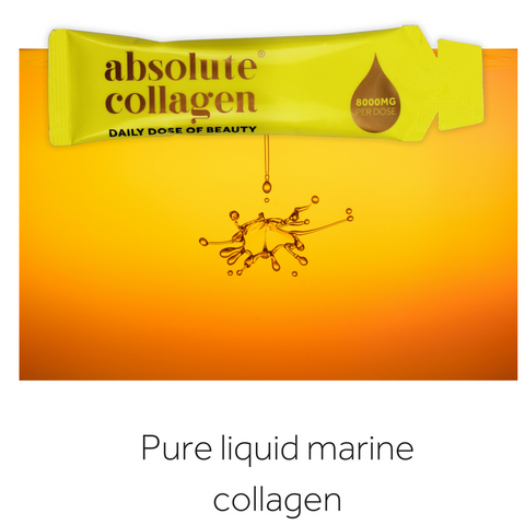 Absolute Collagen uses pure marine liquid collagen