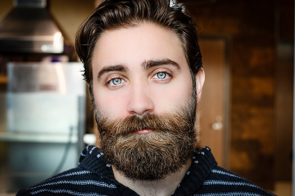 great hair and beard with Absolute Collagen