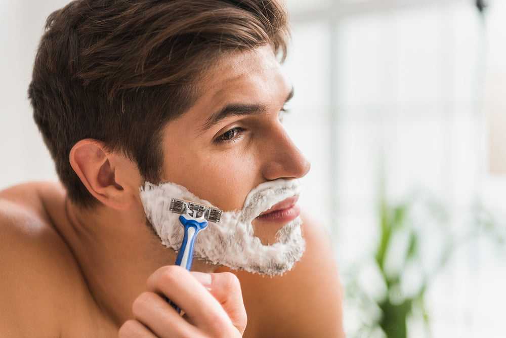 Absolute Collagen drink helps with shaving rash