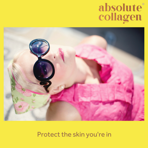 Absolute Collagen can help with protecting against sun damage