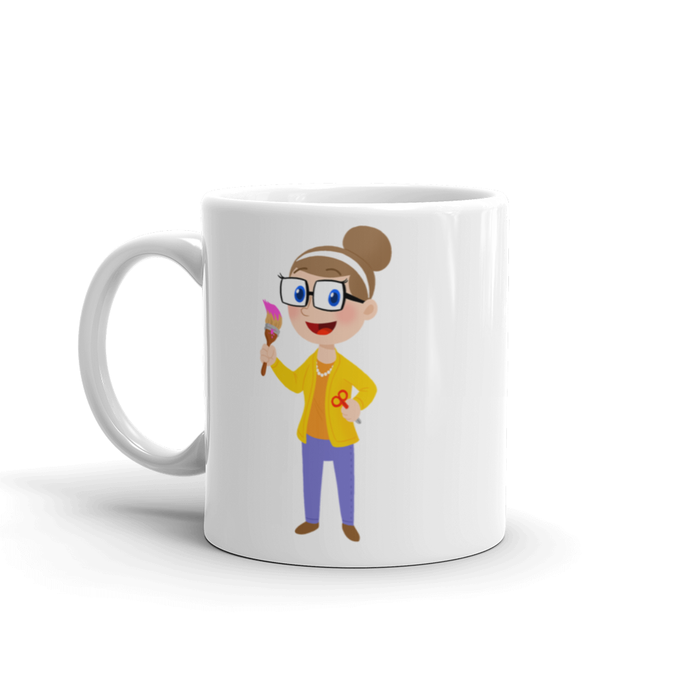 Crafty Carol - 11oz Mug
