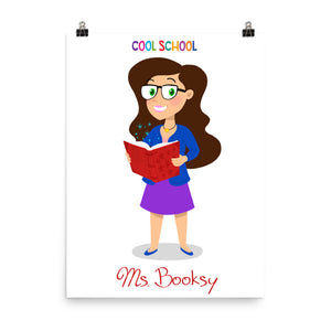 Ms. Booksy - Poster