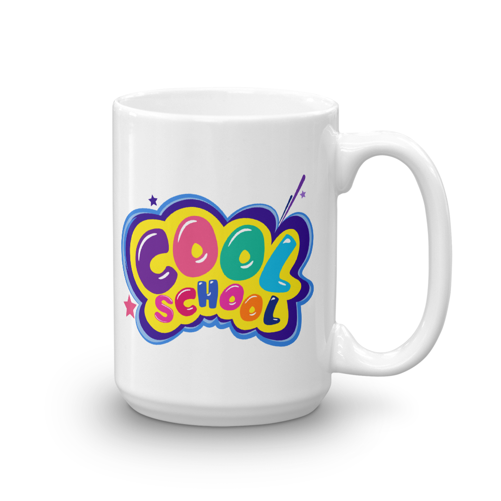 Cool School Logo - Mug