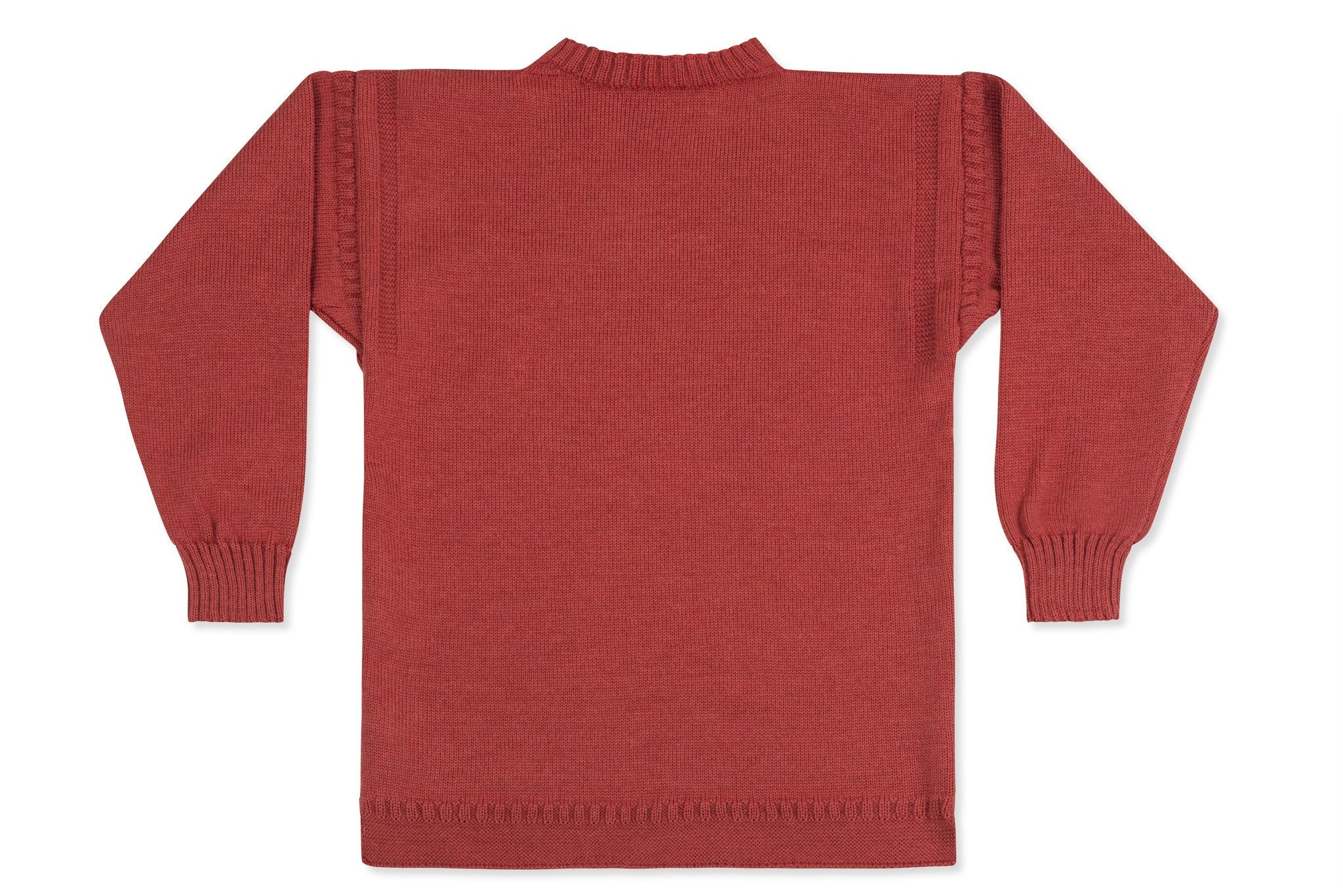 f96f4c9f5a7 Traditional Guernsey Jumper In Breton Red