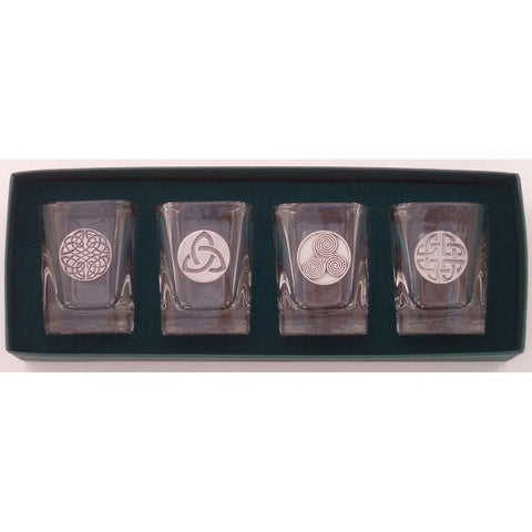 Celtic Knot Shot Glass Set