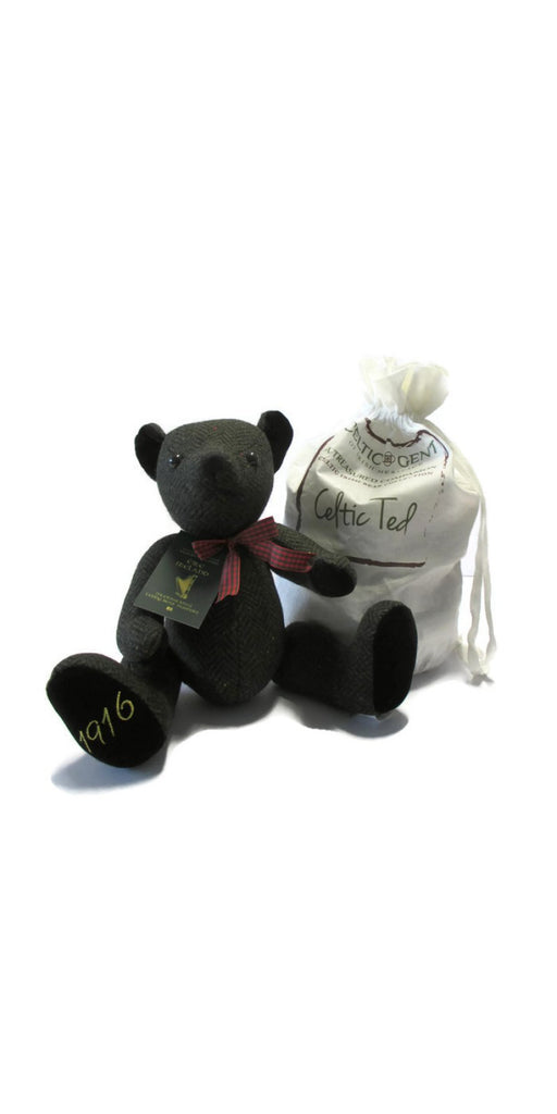 1916 Easter Rising Tweed Teddy Bear