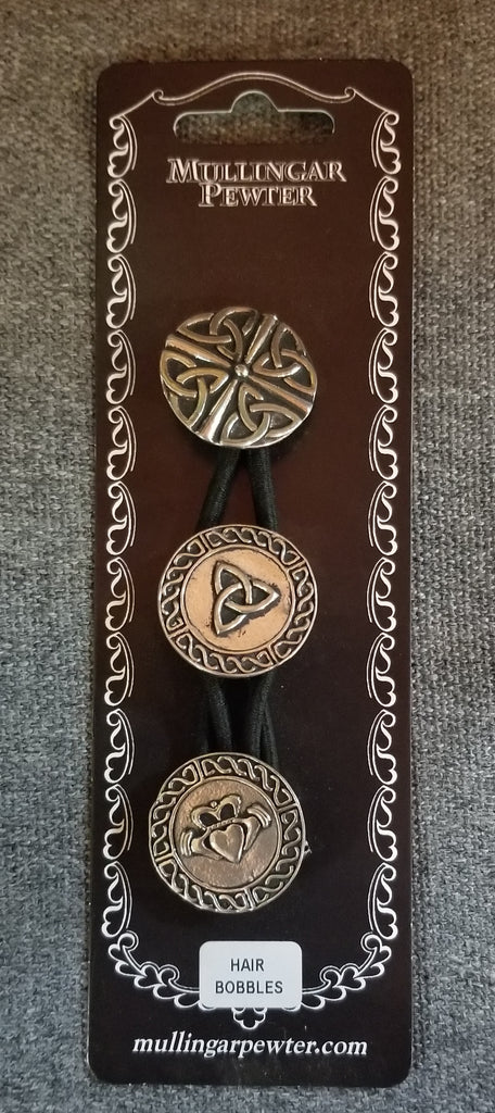 Celtic Knot Hair Bobbles - Set of 3