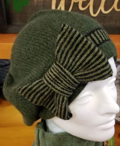 Bow Hat - Pine