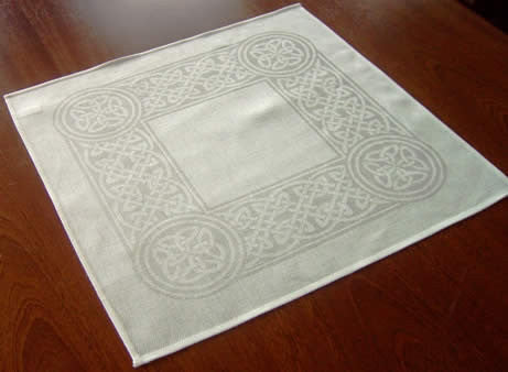Colmcille White Irish Linen Napkins - Set of 6