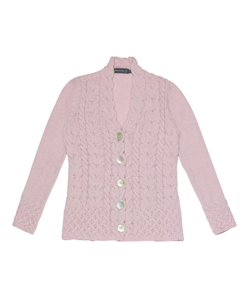 Horseshoe Cable Cardigan