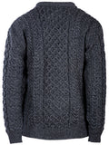 Traditional Aran Pullover (2 Colors)