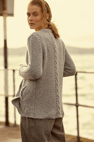Carlingford Moss Stitch Cardigan (2 Colors Available)