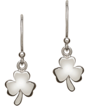 Solid Shamrock Earrings