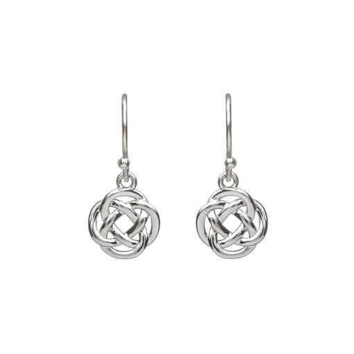 Simple Celtic Knot Drop Earrings