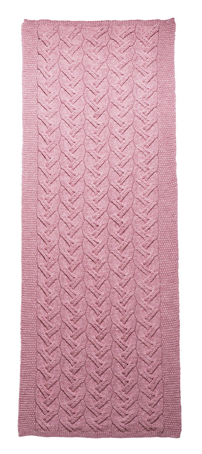 Cable Stitch Throw (2 Colors)
