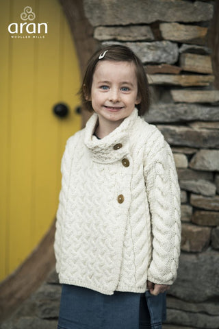 Child's Side Button Cardi