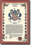 Celebration Family Crest Scroll