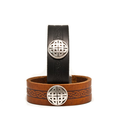 Craig Leather Celtic Cuff