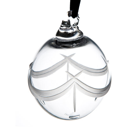 Clear Cut Bauble